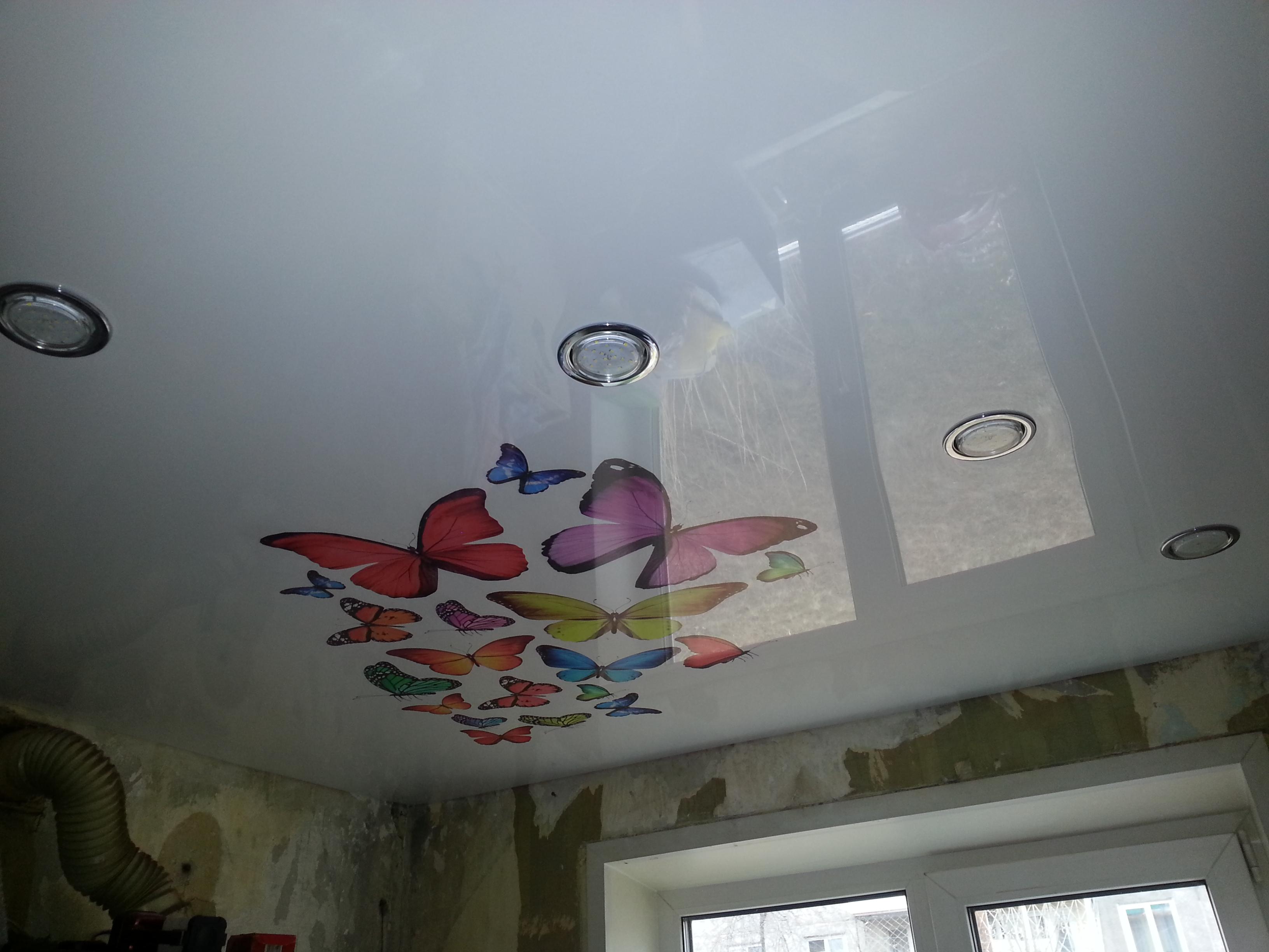 фотопечать натяжные потолки картинки