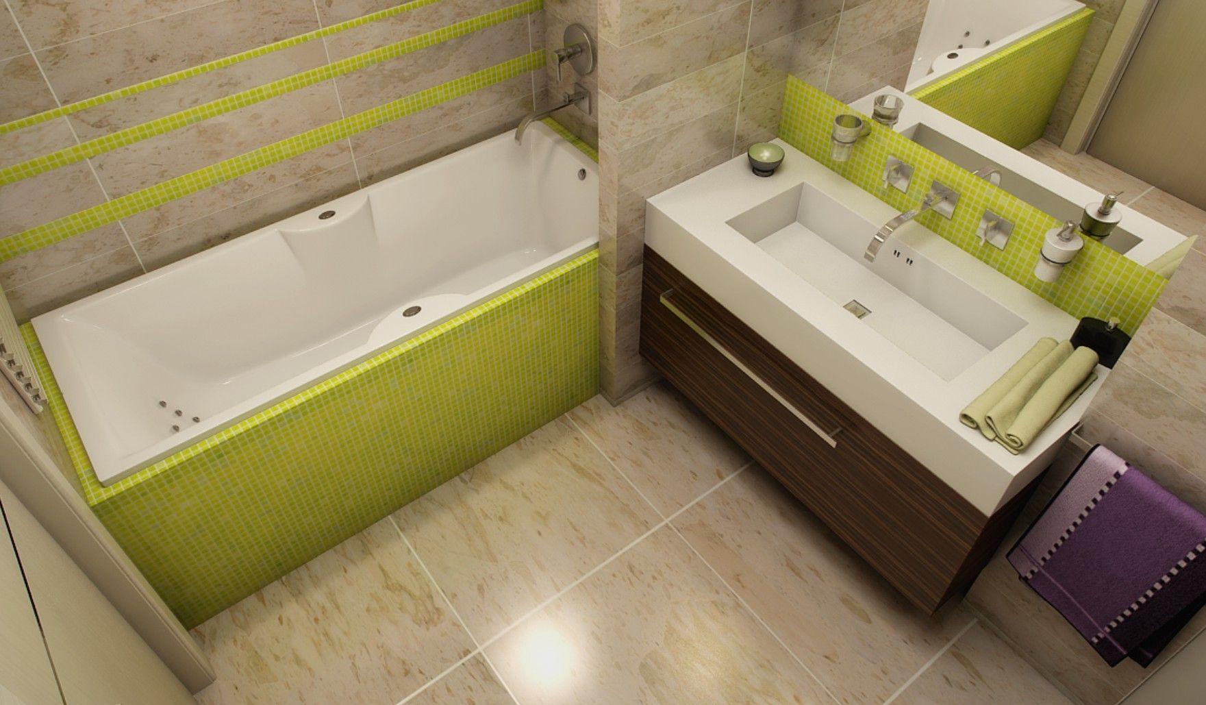 Облицовка плиткой ванной комнаты в Гомеле