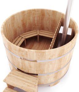 Купель с подогревом воды - японская баня фурако